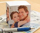 foto notizblock notizw rfel selber gestalten und mit eigenen foto name text logo oder. Black Bedroom Furniture Sets. Home Design Ideas