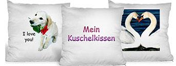 fotokissen kissen selber gestalten mit foto pers nlicher bedrucken lassen und als. Black Bedroom Furniture Sets. Home Design Ideas